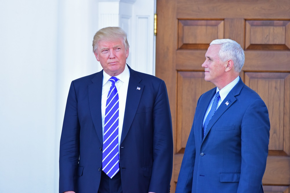 Donald Trump, pictured here with running mate Mike Pence, has a plan to combat the growing addiction epidemic. (a katz/Shutterstock)
