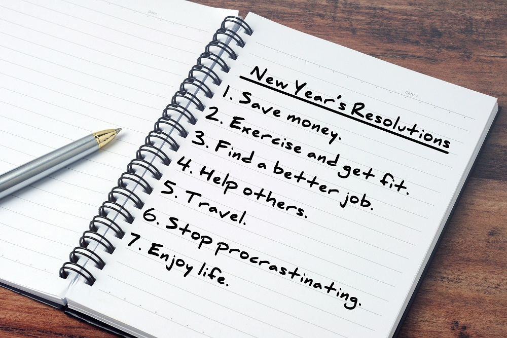 If you're truly eager to begin making progress, you might go ahead and start your New Year's resolutions now. (Nokuro/Shutterstock)