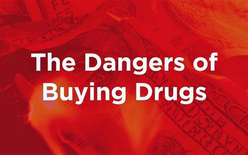 The Dangers of Buying Drugs