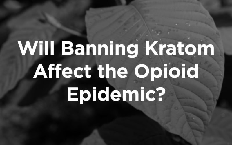 Could the Kratom Ban Cause More Problems For Recovering Addicts?