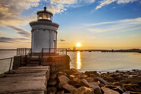 Scarborough, located near Portland, is the epicenter of Maine's Operation HOPE. (Stuart Monk/Shutterstock)