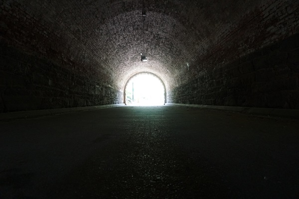 The future appears grim right now, but there may still be light at the end of the tunnel. (Melissa Battaglia/Shutterstock)