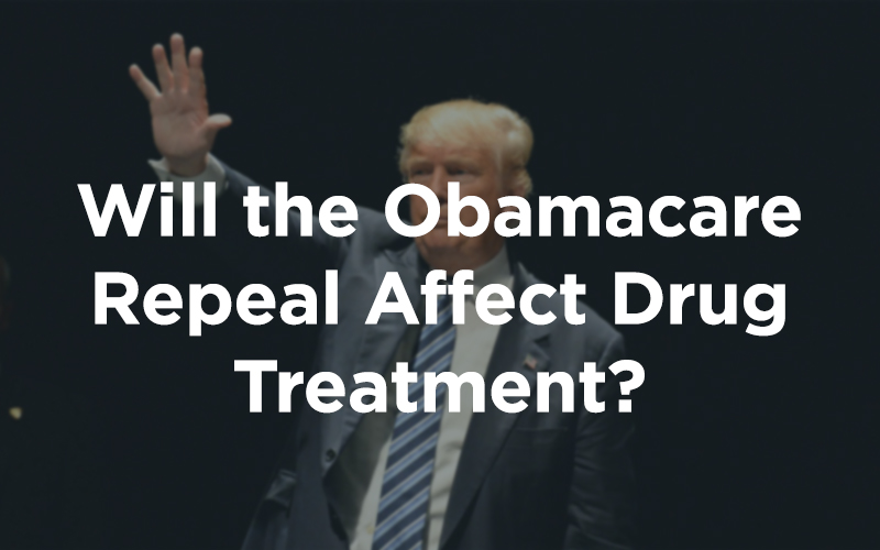 Will the Obamacare Repeal Affect Drug Treatment?