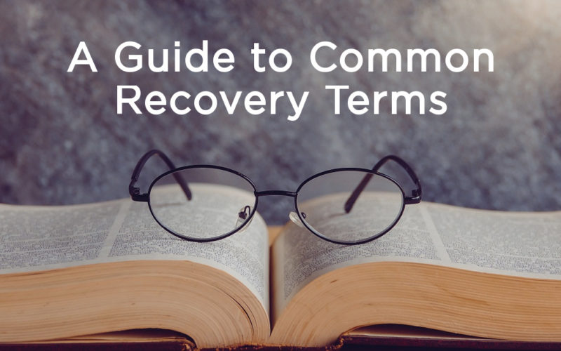 A Guide to Common Recovery Terms